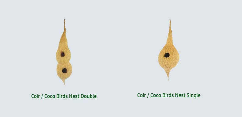 Biogarddener Coco Coir Birds Nest